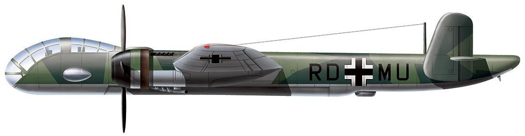 Aviation art - Junkers Ju 288