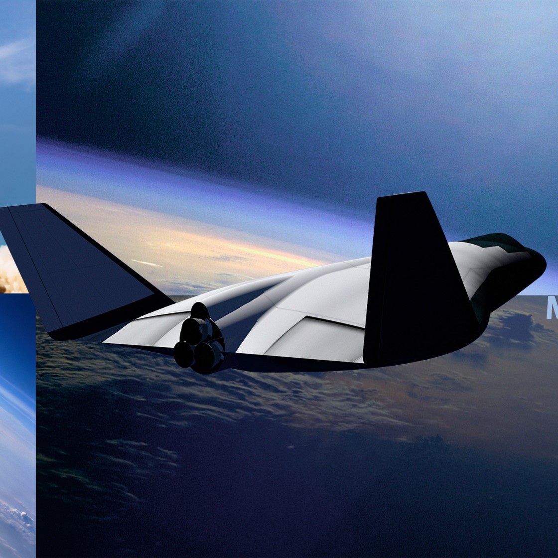 Mustard Space shuttle