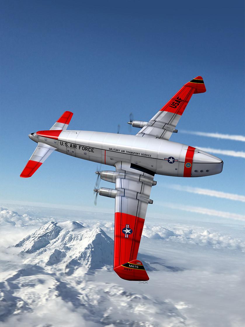 Fairchild M-99-07 heavy airlifter