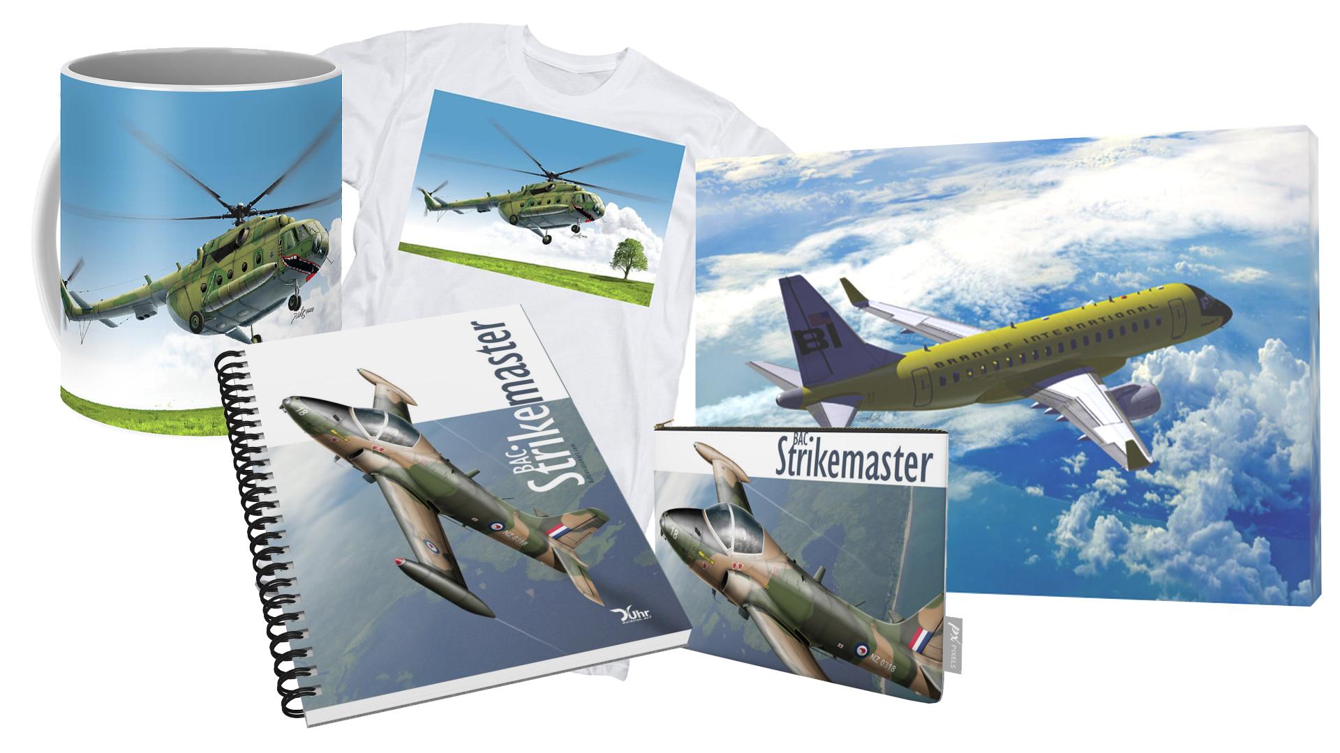 Mugs, Frames, Notebooks... Duhraviationart, Aviation Art, Aviation Art Illustrator, Aviation Art Artist