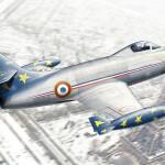 Dassault-M.D.450 Ouragan - Patrouille de France