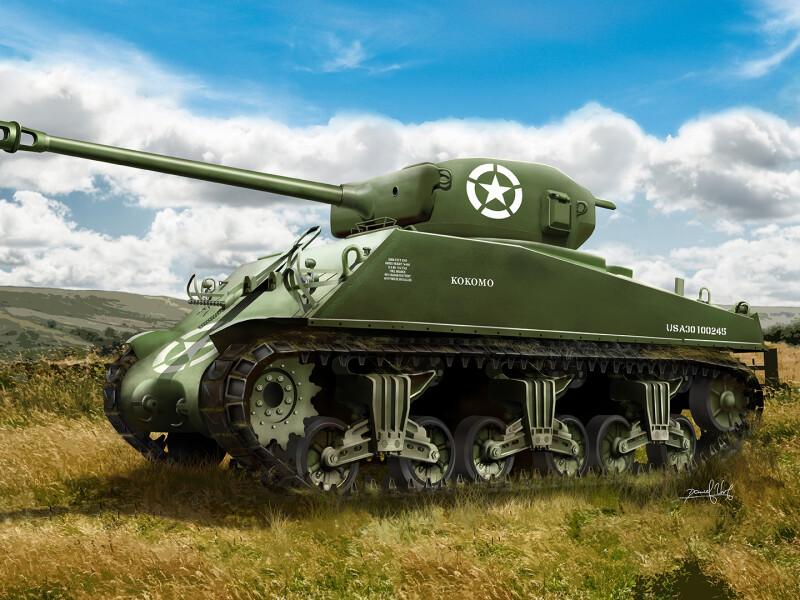 Sherman M4 76